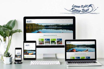 Website der Lenne-Ruhr-Kanu-Tour aus Schwerte - ruhrkanu.de