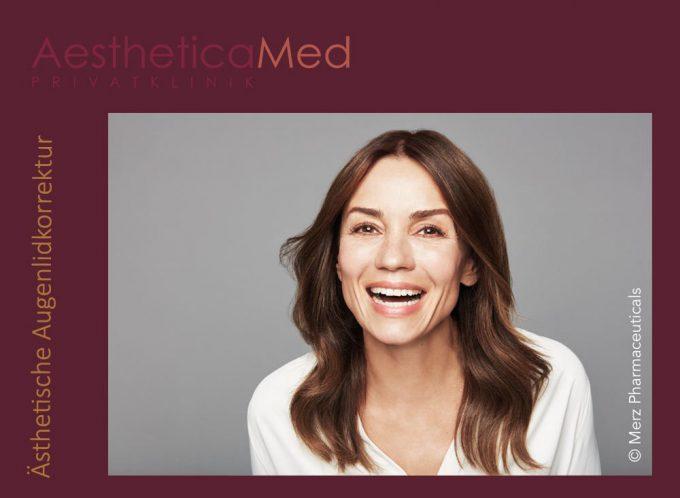 Ästhetische Augenlidkorrektur bei Aestheticamed