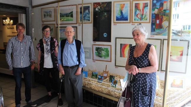 Kleinste Schaufenster-Kunstgalerie